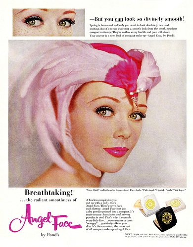 Pond's Angel Face ad, 1959