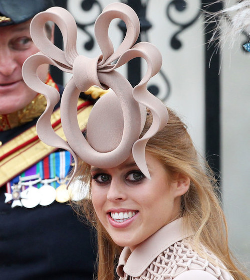 Princess Beatrice - Philip-Treacy