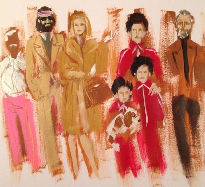 Donald Robertson - Royal Tenenbaums