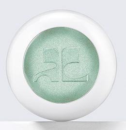 Estée Lauder Courrèges green eye shadow
