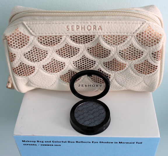 Sephora makeup bag and eye shadow
