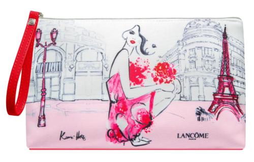 Kerrie Hess - Lancôme Australia makeup bag