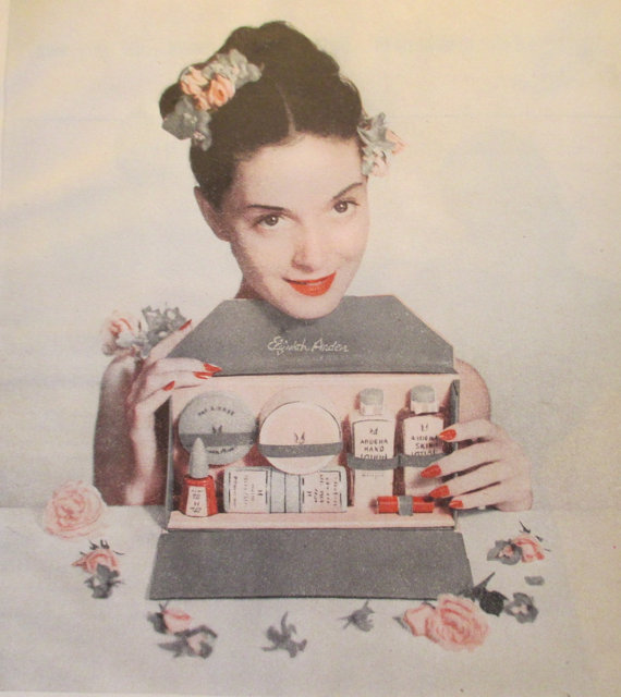 Elizabeth Arden ad, 1947