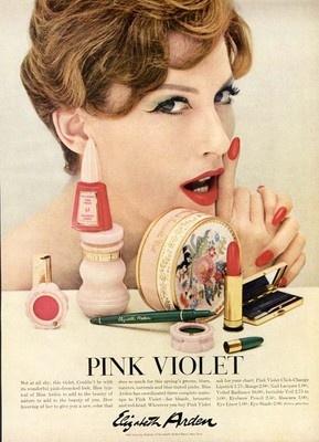 Elizabeth Arden ad, 1958
