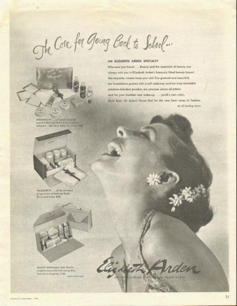 Elizabeth Arden ad, 1949