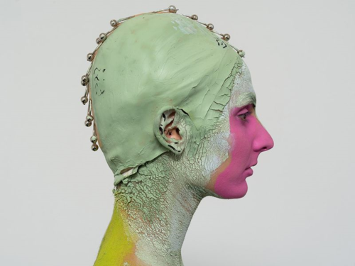 Donna Huanca - performance for Muscle Memory show