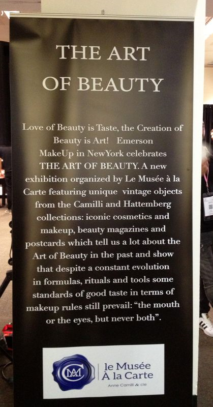 Art of Beauty exhibition banner