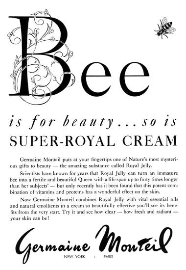 Germaine Monteil ad, 1958