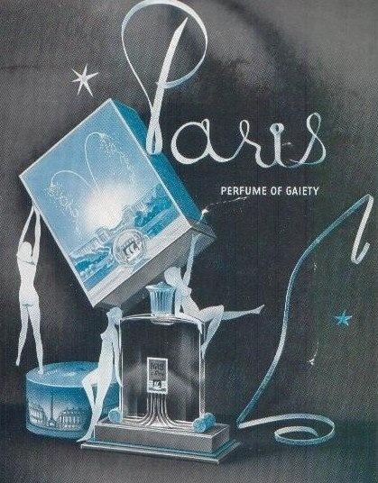 Coty Paris ad, 1939