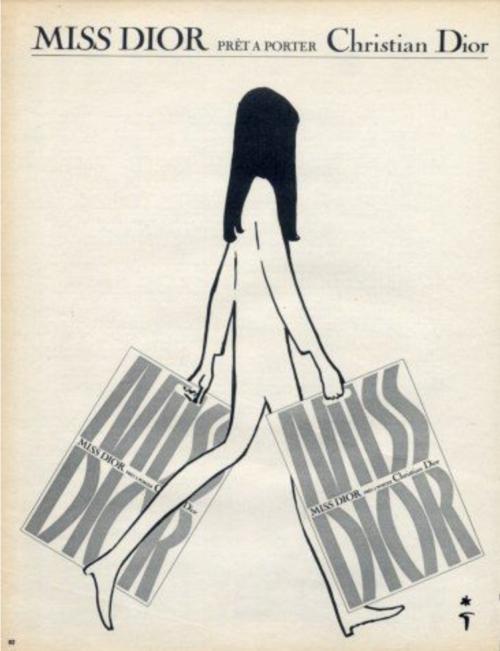 Miss Dior ad 1967