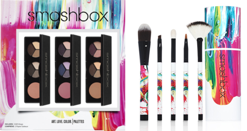 Smashbox Yago Hortal palettes and brush set