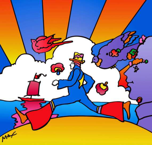 Peter Max, Cosmic Runner