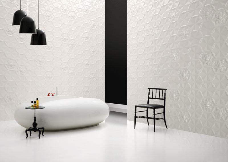 Marcel Wanders - Frozen Garden tile collection, 2014