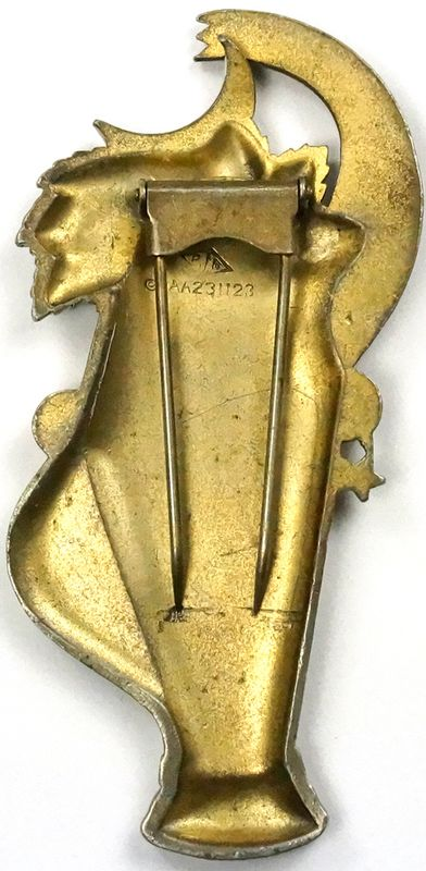 Stanley MacNiel jeweled brooch