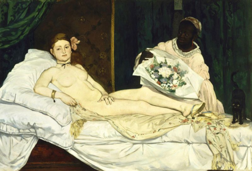 Manet - Olympia, 1863