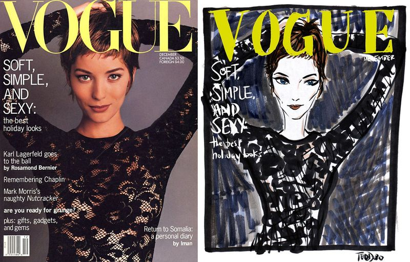 Justin Teodoro - 1992 Vogue cover