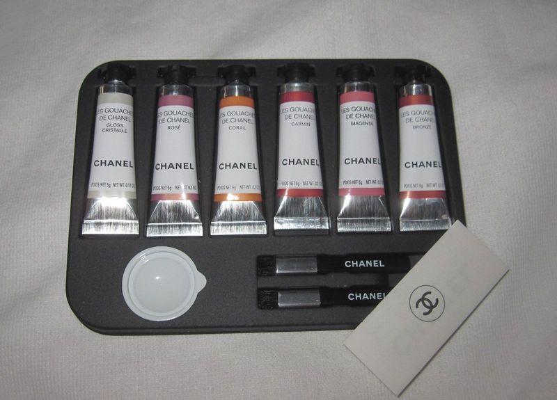 Chanel Les Gouaches set, ca. 2002