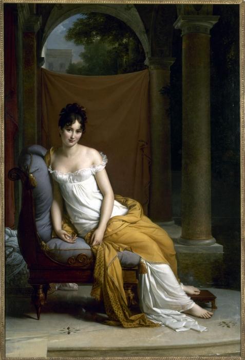 Juliette Récamier by Francois Gerard, 1802