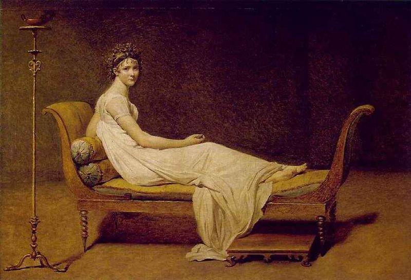 Madame Récamier by David, 1800