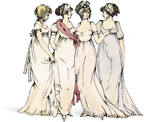 "Illustration of ""les Merveilleuses"" from the Ladurée website"