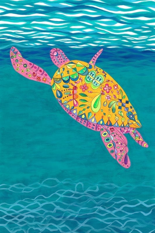 Satoko-Wada-sea-turtle
