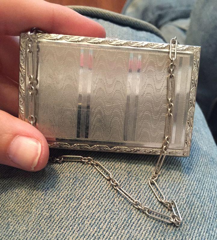 Vintage dance purse/wristlet