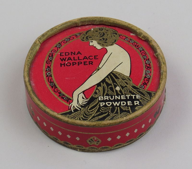 Edna Wallace Hopper powder, early 1920s