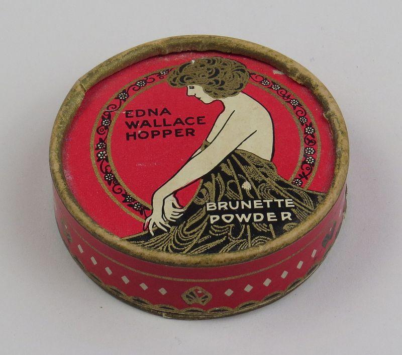 Edna Wallace Hopper powder, early 1920s