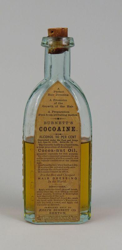 Cocoaine hair treatment, 1906-1908