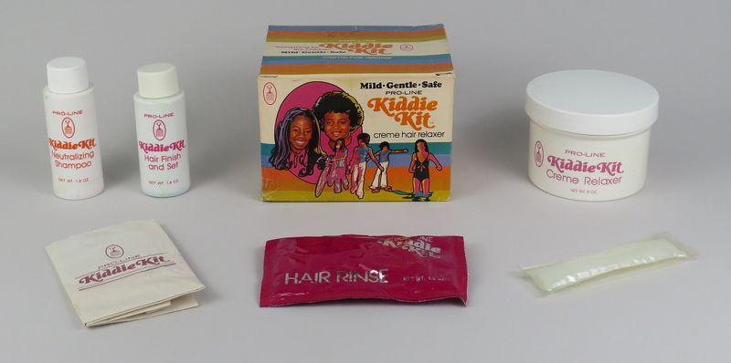 Pro Line Kiddie Kit Hair Relaxer, ca. 1979