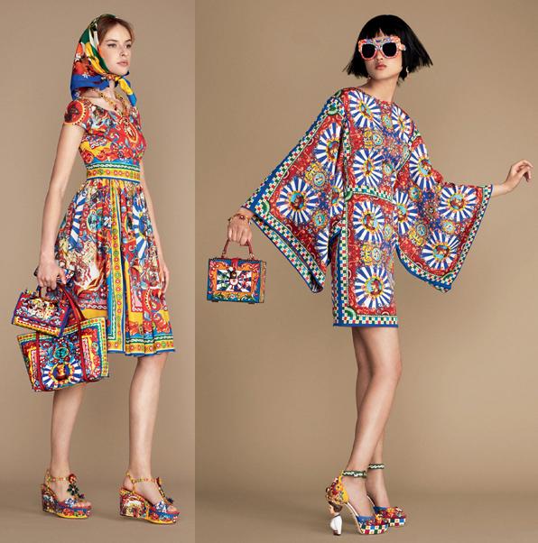 Dolce & Gabbana spring/summer 2016 carretto