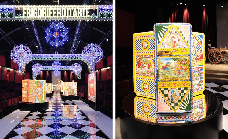 Dolce & Gabbana carretto refrigerator