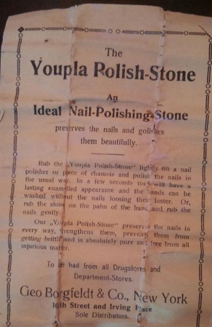 Youpla nail buffing stone insert