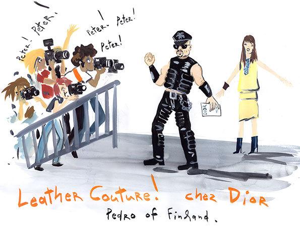 Konstantin Kakanias - Paris fashion week