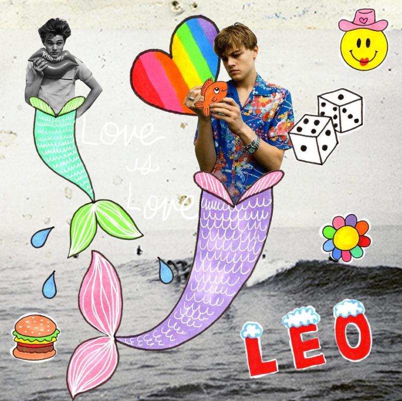 Iscreamcolour - Leonardo DiCaprio