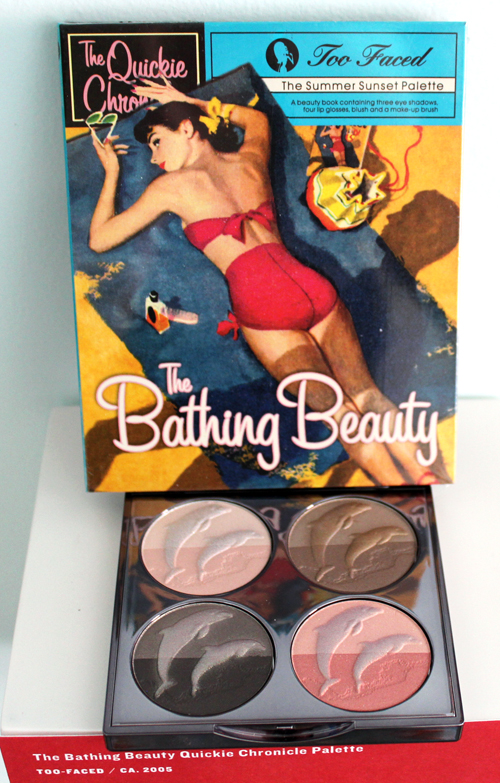 Too Faced Bathing Beauty palette and Chantecaille Les Dauphins palette