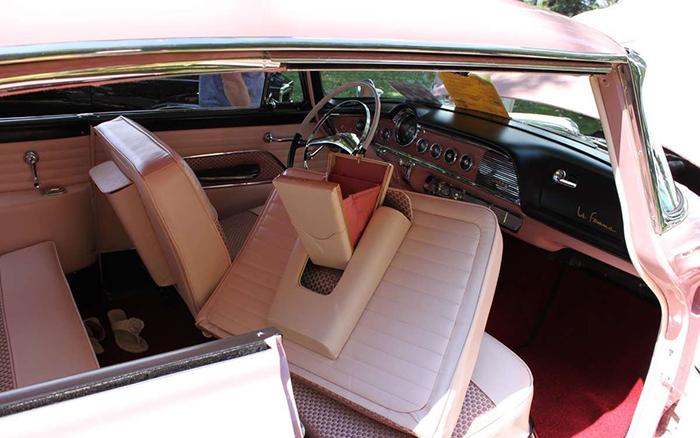 1956 Dodge La Femme interior