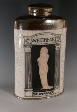 Karen Shapiro - vintage Sweetheart talcum powder
