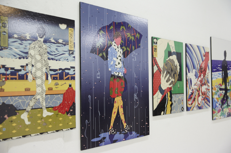 Andrew Archer - gallery installation