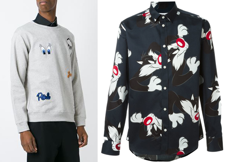 Paul & Joe men's Looney Tunes collection