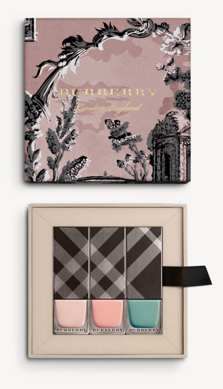 Burberry fall 2016 nail set