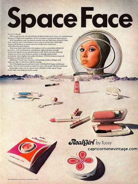 Tussy ad, 1969
