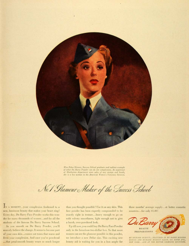 1942 DuBarry ad