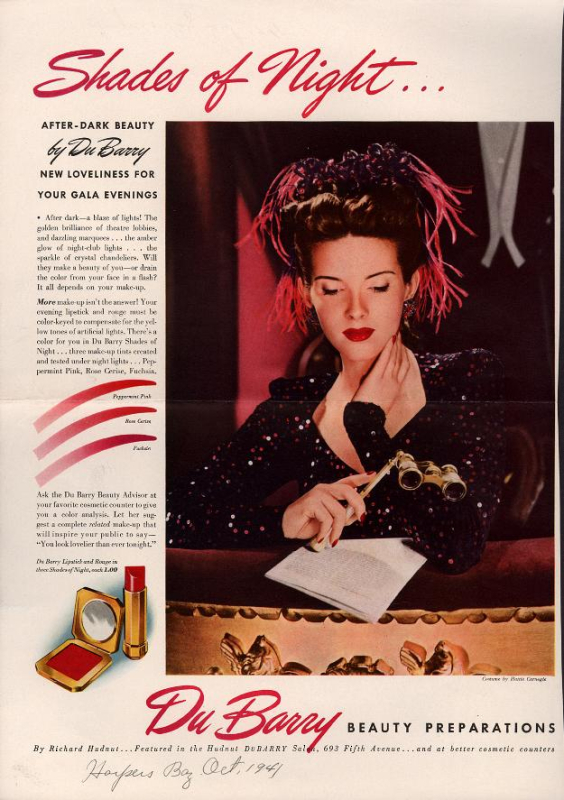 1941 Dubarry ad
