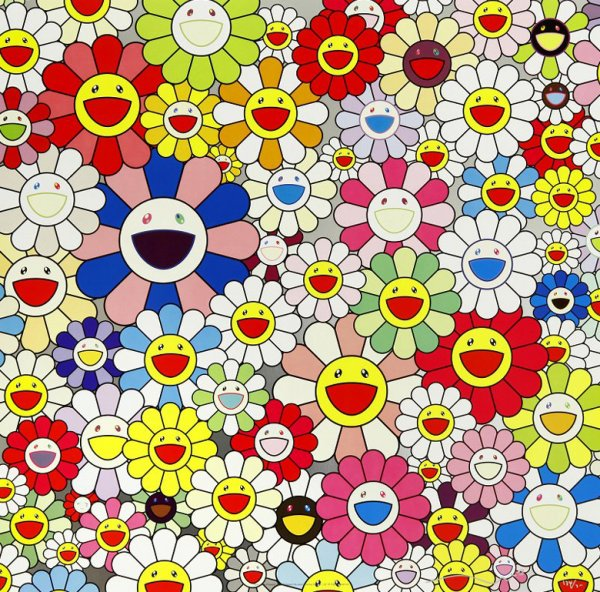 Takashi Murakami, Such Cute Flowers, 2010