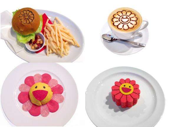 Murakami cafe - food