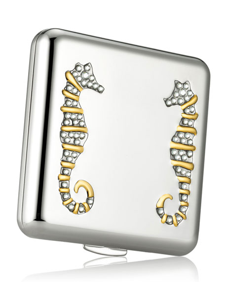 Monica Kosann for Estée Lauder - Graceful Seahorses compact