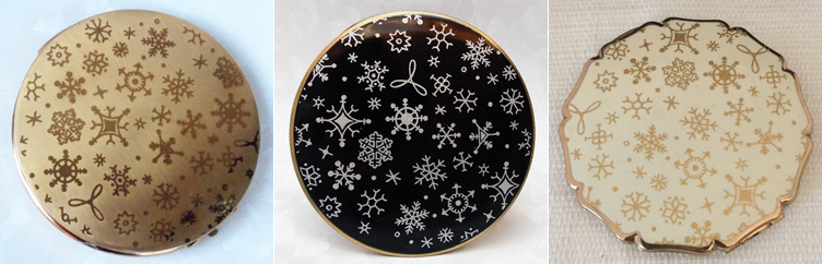 Stratton snowflake compacts