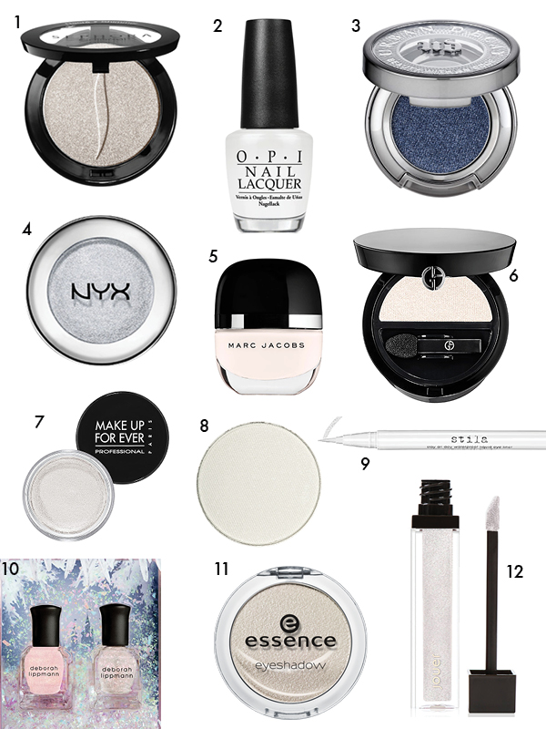 Frosty beauty products