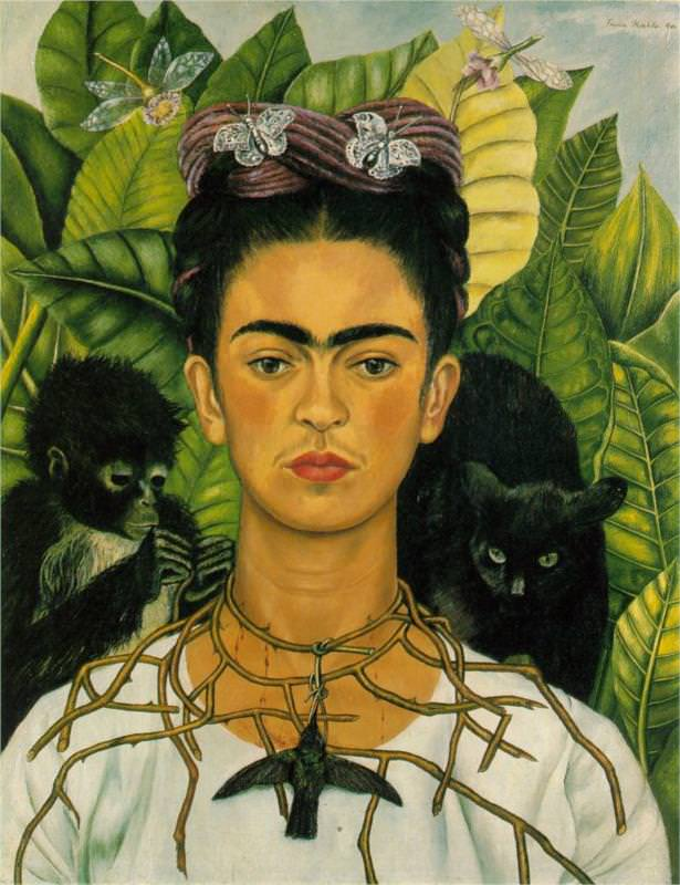 Frida Kahlo, Self-Portrait, 1940